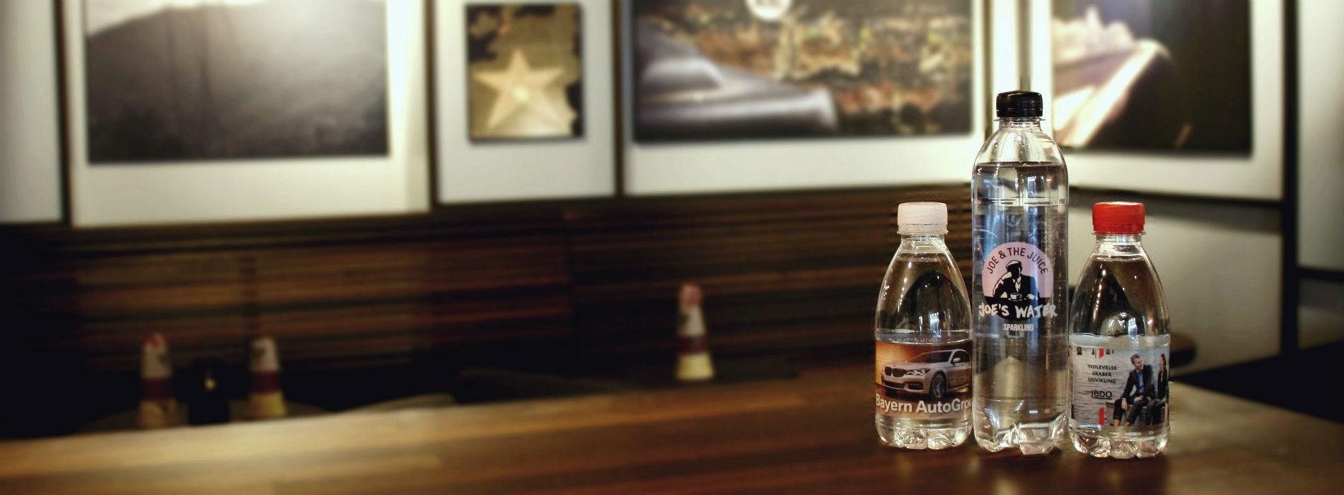 Flasker med logo til dit firma