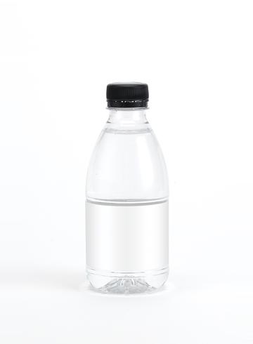 Vand med 0,33 liter
